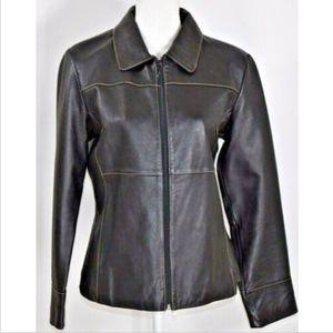 Wilsons Leather Maxima women's jacket large black